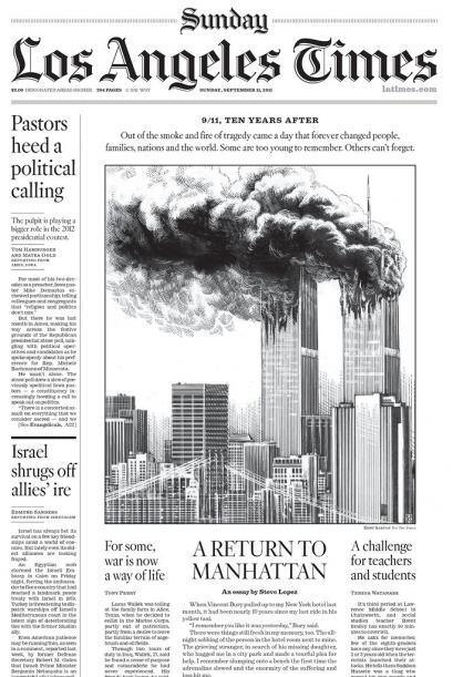 Cortesía de Los Angeles Times, vía Newseum.