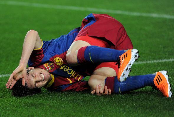 En el fútbol se castiga mucho a los habilidosos. Messi no es de fingir p...