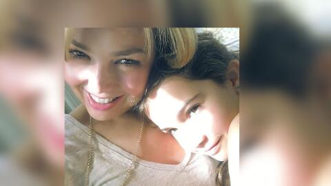 Thalía e hija