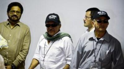 Miembros del comité de la guerrilla de las FARC.