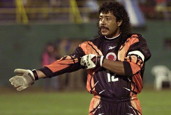 René Higuita, portero de Colombia en 1990, usaba siempre un calzoncillo...