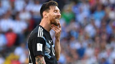 Según el 'Turco' Mohamed, Argentina no tiene dinámica de juego y le falta ser más atrevida