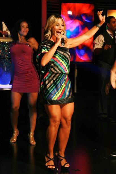 La cantante interpreta con sentimiento, pues los temas que canta son esc...
