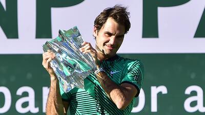 ¡Roger Federer lo hace de nuevo! Campeón en Indian Wells por quinta vez