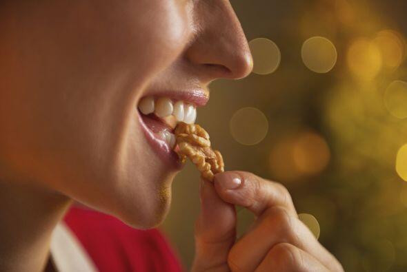 Nueces. Otra opción vegetariana. Repletas de ácidos grasos esenciales, v...