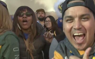 La comunidad de Oakland salió a las calles para festejar el campeonato d...