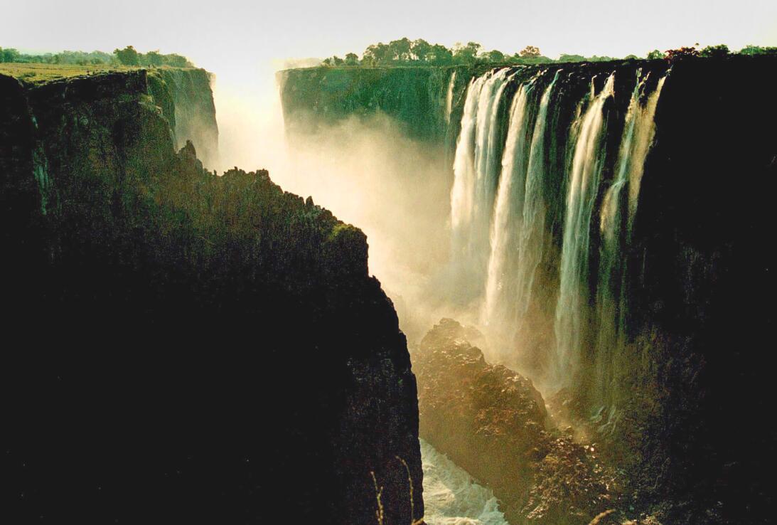 ZIMBABUE DIA MUNDIAL DEL AGUA:XKL02 CATARATAS VICTORIA (ZIMBABUE) Fotogr...