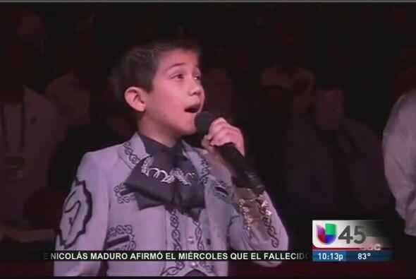 Tremenda controversia cantó Sebastien De La Cruz, un niño de San Antonio...