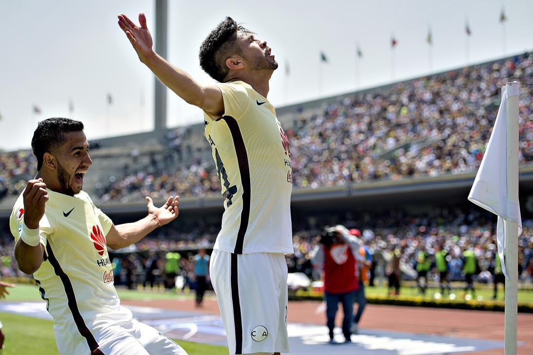 América sufrió, pero al final derrotó 3-2 a los Pumas en CU 013 Oribe ma...