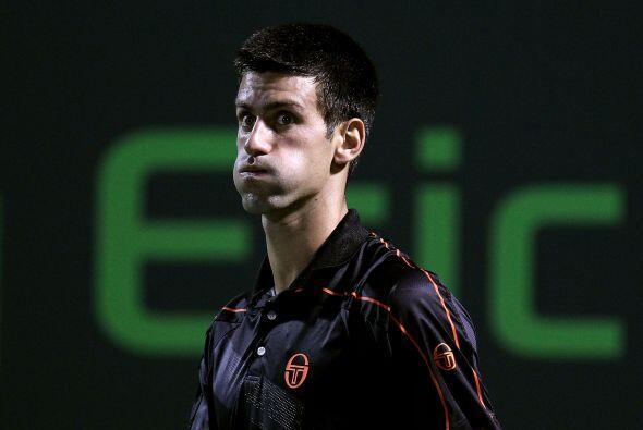 ¿Un hamster? ¡No! es la raqueta número dos del mundo, Novak Djokovic.