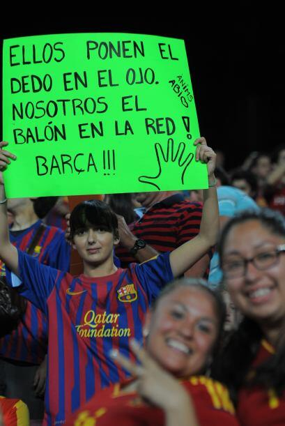 La afición del Camp Nou sigue sinperdonar a José Mourinho, entrenador de...