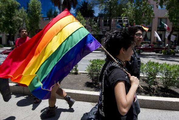 Según las autoridades, la marcha comenzó con unos 12,000 p...