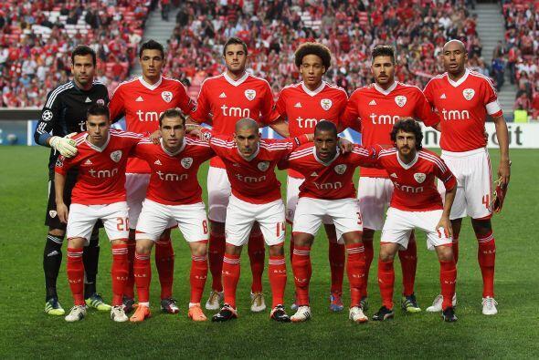 Benfica: Artur Moraes; Maxi Pereira, Luisao, Javi García, Emerson...