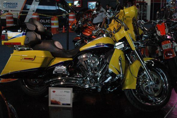 Los colores llamativos son una de las constantes entre las motocicletas...