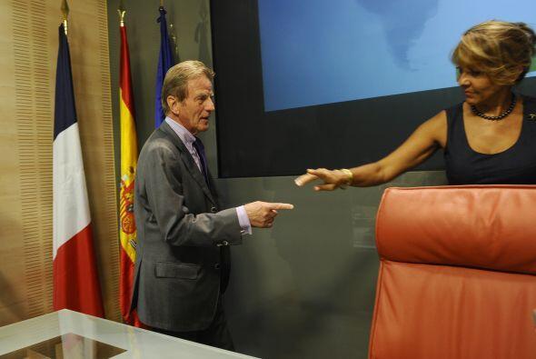 El ministro francés de Asuntos Exteriores y Europeos, Bernard Kouchner s...