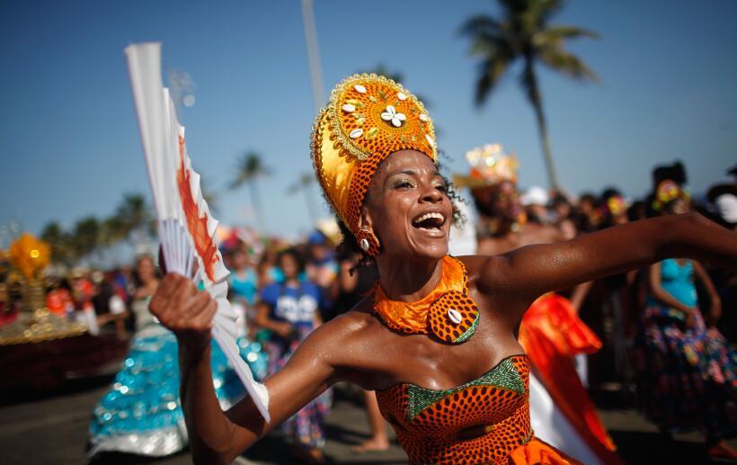 Las escuelas de samba se vieron obligadas a apostar por espectácu...