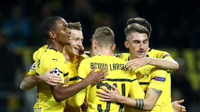 En fotos: Borussia Dortmund goleó al Mónaco, que sigue sumido en su crisis