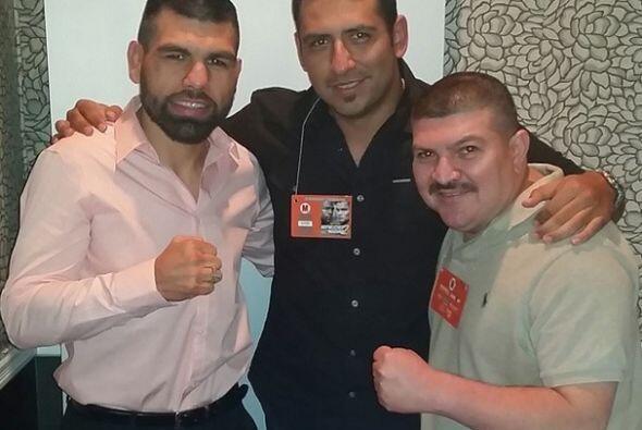 Raul, Caratuky, el Caballo y la Estampita transmitieron desde Las Vegas...