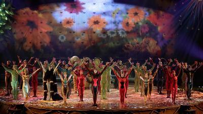 El Circo del Sol llega a Houston con un espectáculo que hace homenaje a la historia mexicana