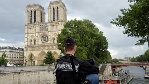 Residente de Chicago fue testigo del terror que se vivió Notre Dame tras...