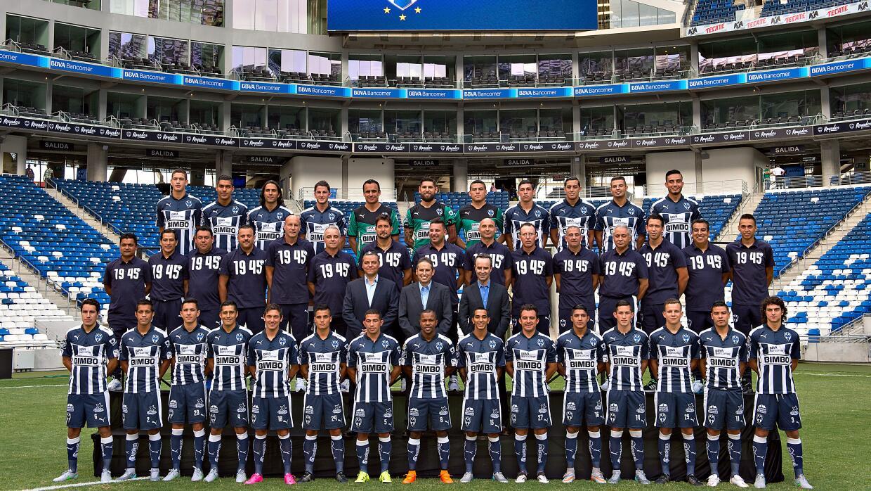 Monterrey posó para la lente en su nuevo estadio.