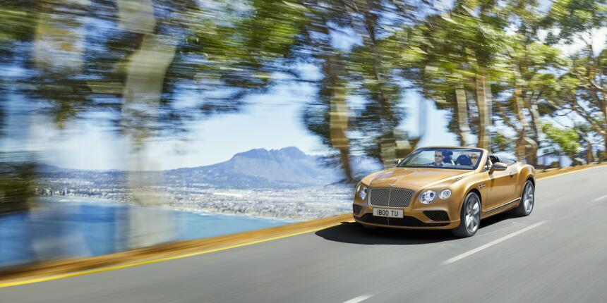 El Bentley Continental GT Convertible