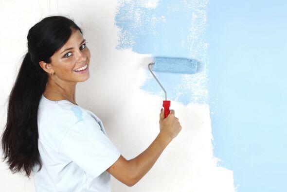 Esa habitación ¡tendrá tu sello personal! Pintarla con tus propias manos...