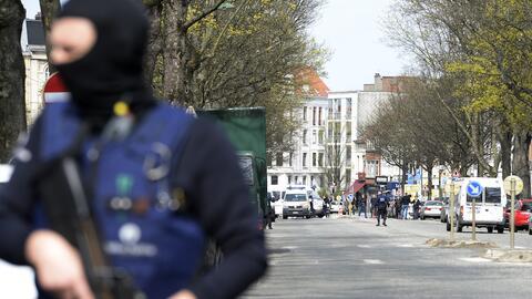 Detención de sospechosos de terrorismo en Bruselas