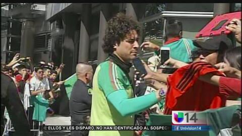 Afición lista para el juego de México-Chile