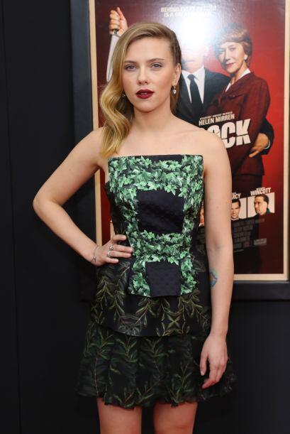 Famosas como Scarlett Johansson, se apuntaron a esta moda para poder pre...