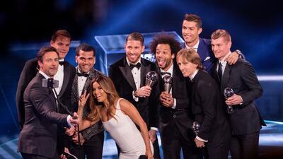 Cristiano Ronaldo se llevó el primer premio The Best a Mejor Jugador del Mundo