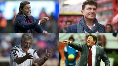 Cuatro reyes por la corona: qué tienen los técnicos de la semifinal de la Liga MX