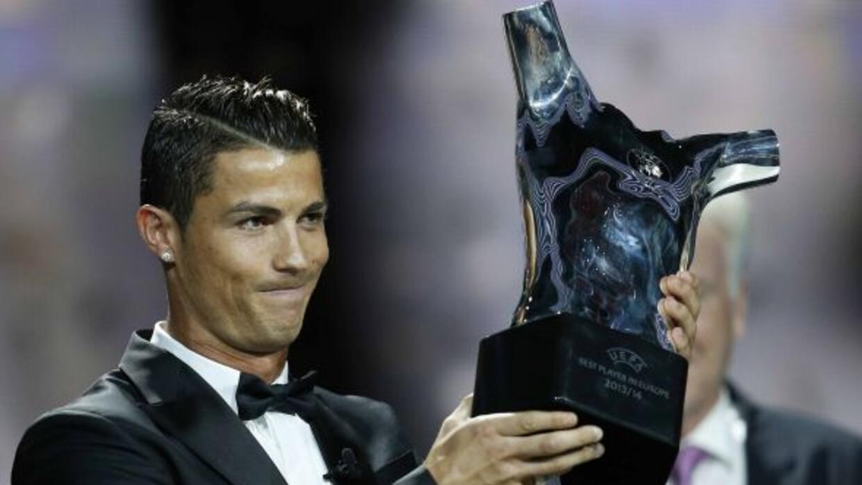 Un orgulloso Ronaldo no pudo ocultar su felicidad tras ser anunciado com...