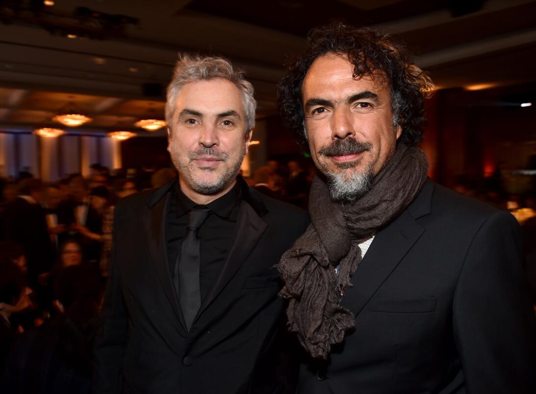 Alfonso Cuarón y Alejandro G. Iñarritú attend the 67th Annual Directors...
