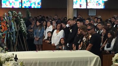 En fotos: el emotivo funeral y vigilia en honor de Elías Rodríguez