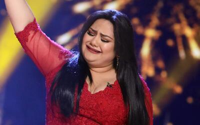 Emocionada hasta las lágrimas: así reaccionó Sandra al conocer que era l...
