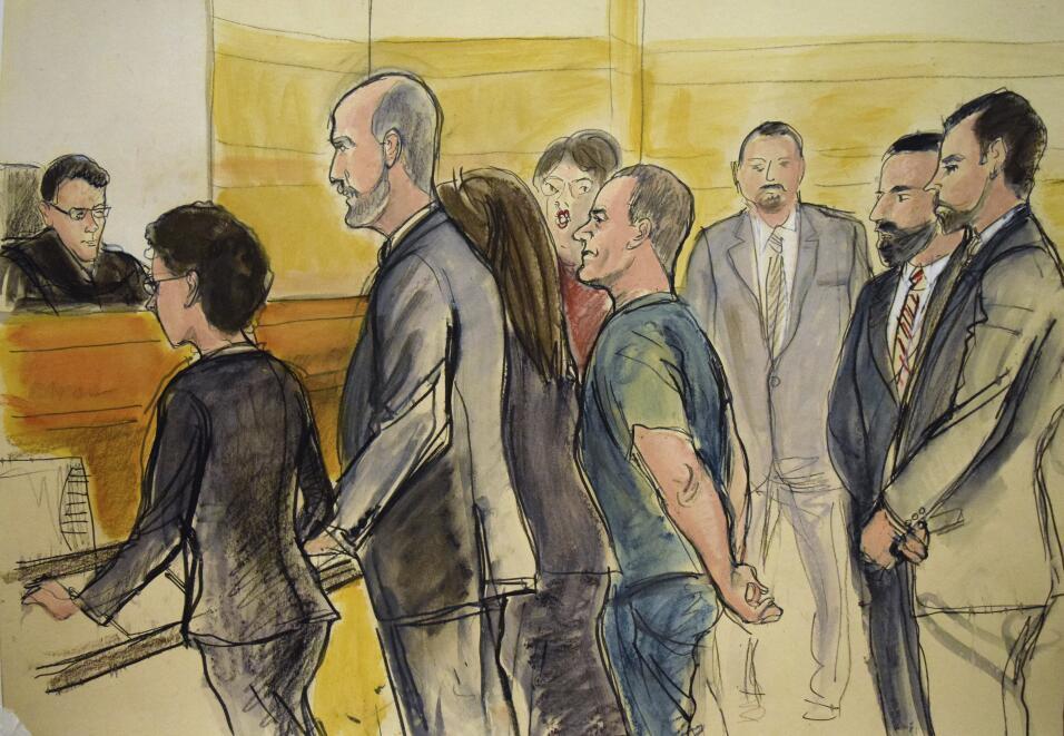 """Durante su comparencia ante la corte, 'El Chapo se declaró """"no..."""