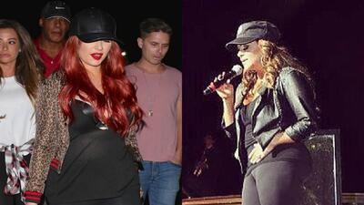 Cristina Aguilera estrena look radical ¡Está igual a Jenny Rivera!