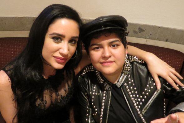 Geissie con Stephanie Guzmán.