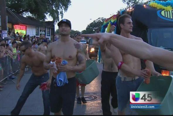 Desfile gay Houston 2013