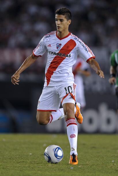 Erik Lamela es la última gran aparición en River Plate. Ti...