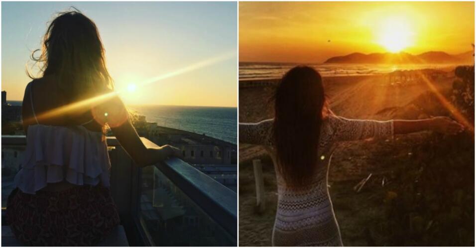 Puesta de sol de Irina y Geraldine