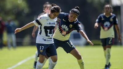 Las Águilsa lideran el Grupo 1 de la Liga MX Femenil
