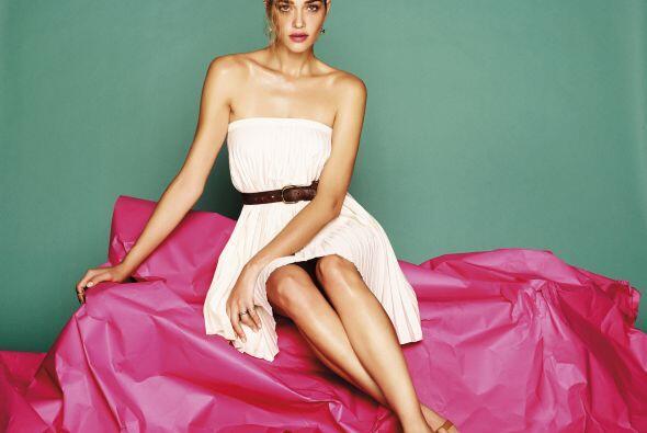 Quien logró que la modelo luciera de lo más sensual y natural.