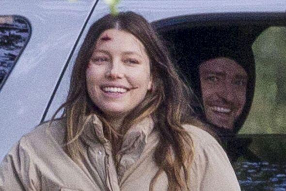 ¡La visitó su esposo, Justin Timberlake!