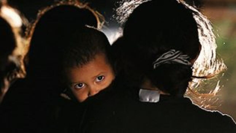 Niños en la frontera sur de Estados Unidos.