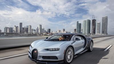 Fotos del Bugatti Chiron