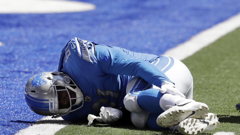 Kerry Hyder se lesionó en el primer partido de la pretemporada ante Colts.