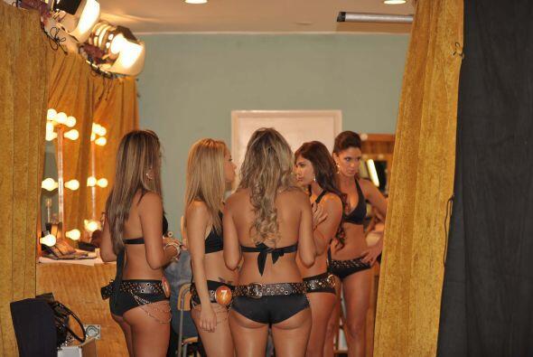 Las imágenes que no viste durante República Deportiva. Las chicas detrás...