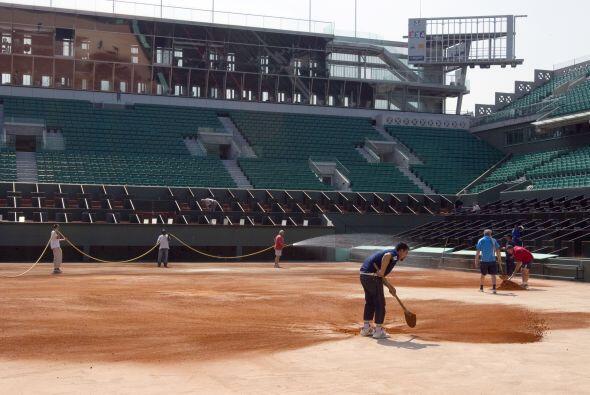 Roland Garros, considerado el torneo de tenis en tierra batida má...